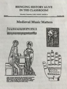 Medieval Music Matters